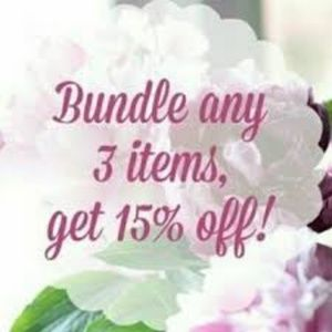 Accessories - BUNDLE 3 or more items and SAVE 15%